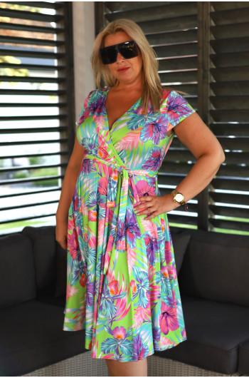 Zmysłowa sukienka Plus Size...