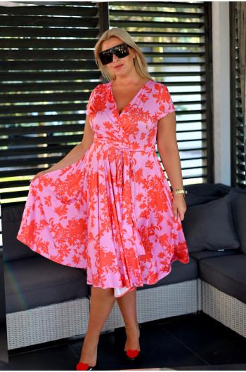 Szałowa sukienka Plus Size...