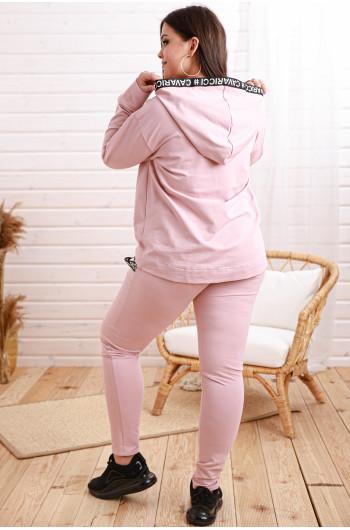 SALE! Dp-04 Dres z kotylionem w kolorze różowym