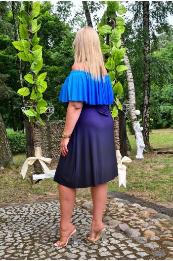 Ombre sukienka hiszpanka Plus Size M-12 Najmodniejsza