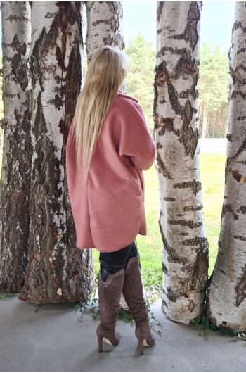 A-01 Mega kobiecy płaszcz z Alpaki