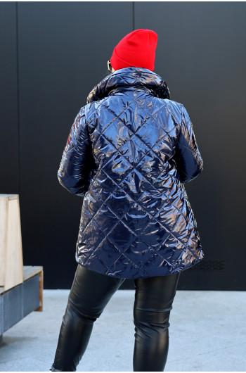 Wyjątkowa lakierowana kurtka grantowa Kz-18
