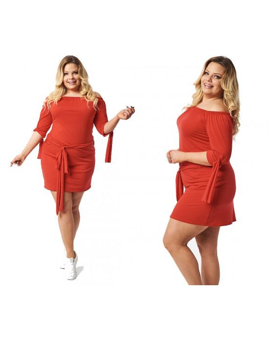 Zmysłowa sukienka tunika S-37