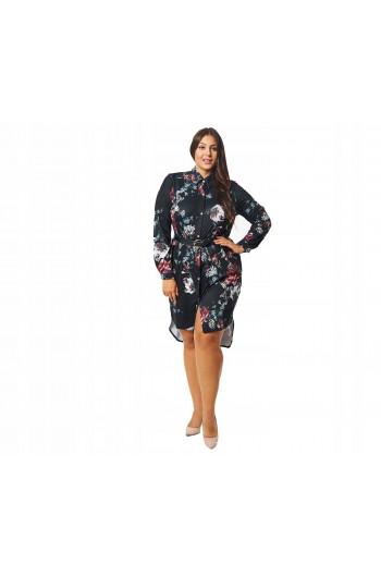CAVARICCI PLUS SIZE suknia koszula SKD-60