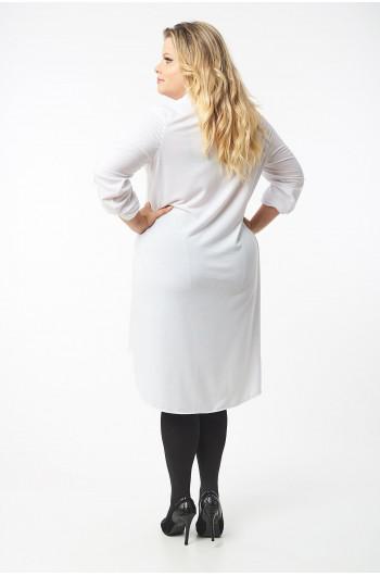 CAVARICCI PLUS SIZE suknia koszula S-60