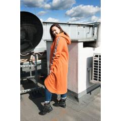 BL-01 Bluza Maxi Dresowa Ciepła Plus Size