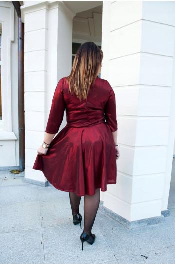 CAVARICCI Sukienka Z Koła Damska Sg-52