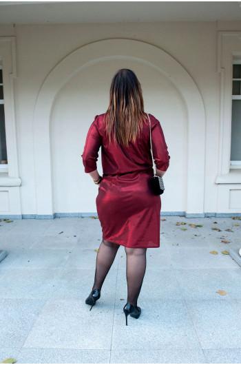 Eksluzywna sukienka Plus Size Dekolt - typ Sg-21