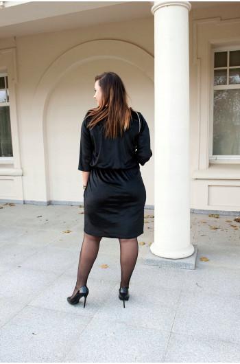 CAVARICCI Sukienka Ołówkowa Welur Sm-21
