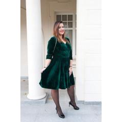 CAVARICCI Sukienka Z Koła Damska Sm-52