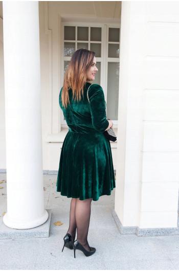 Ekskluzywna sukienka Plus Size z koła Sm-52