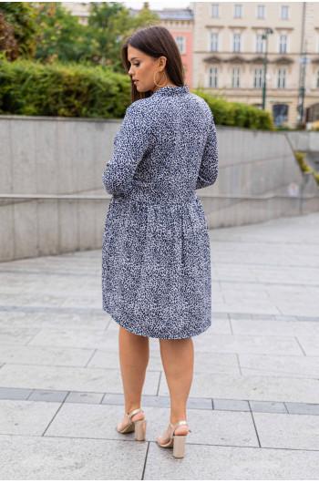 S-06 sukienka koszulowa guziki ZARKA wzór 8