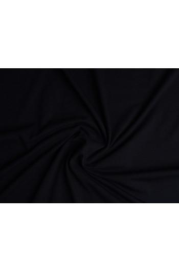 Tkanina - wysokogatunkowa dzianina wiskoza czarna
