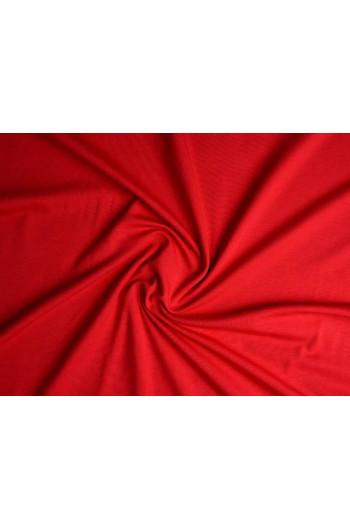 Tkanina - wysokogatunkowa dzianina wiskoza czerwona