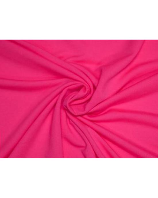 Tkanina - wysokogatunkowa dzianina wiskoza neonowy róż