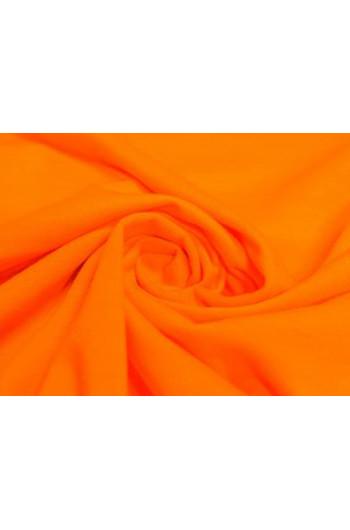 Tkanina - wysokogatunkowa dzianina wiskoza neonowy pomarańcz