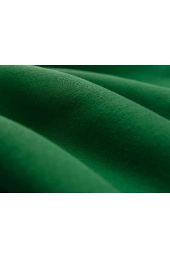 Tkanina - dresówka drapana zieleń butelkowa