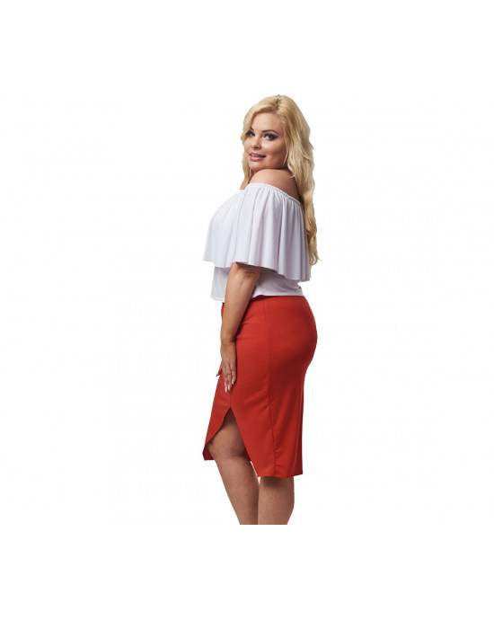 Seksowna spódnica ołówkowa PLUS SIZE
