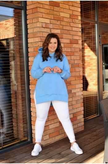 Nietuzinkowa błękitna bluza Cavaricci BL-03