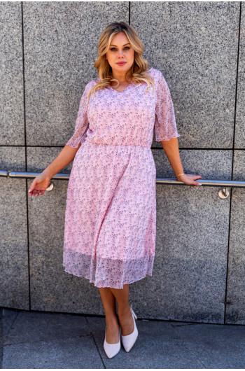SALE! Sukienka S-48 uwodzicielska sukienka midi
