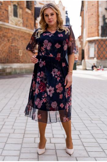 SALE! Zniewalająca sukienka w wersji midi S-48