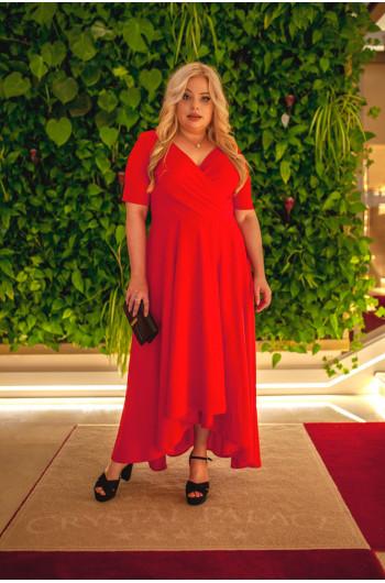 Doskonała kobieca kreacja Plus Size na każdą okazję w tym wesele...